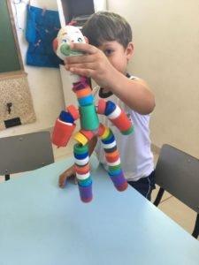 Brinquedos de material reciclados