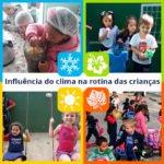 Mudanças climáticas e a rotina das crianças