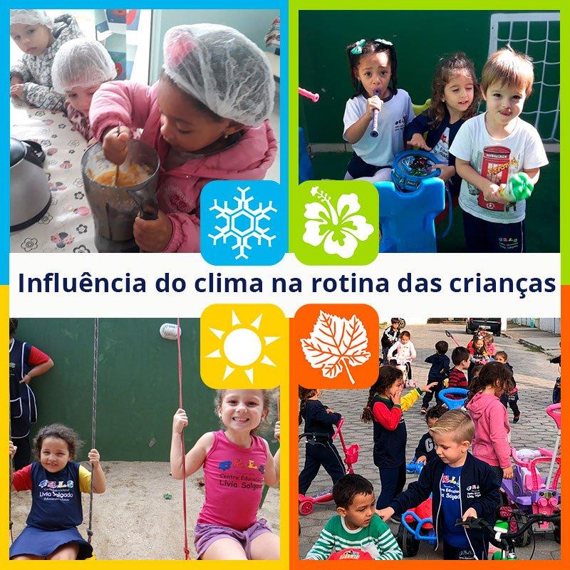 CELS fala sobre as mudanças climáticas. A influência na rotina das crianças.