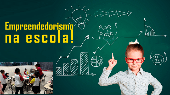 Empreendedorismo na escola CELS em Palhoça